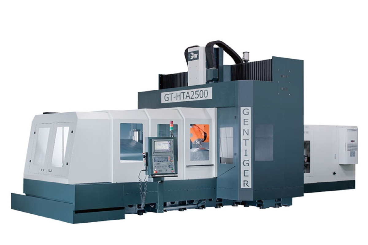 High speed 5-axis machining center
